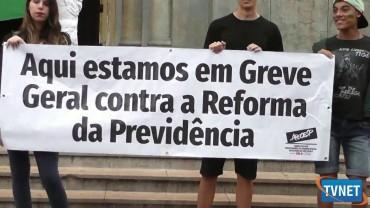 MANIFESTO CONTRA REFORMA DA PREVIDENCIA